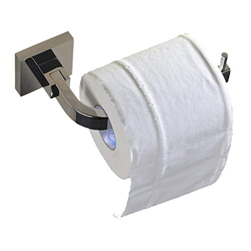 Aothpher Toilettenpapierhalter Wand Edelstahl chrome bad Handtuchhalter papier Rollenhalter 16 * 8.5 * 5.4 cm