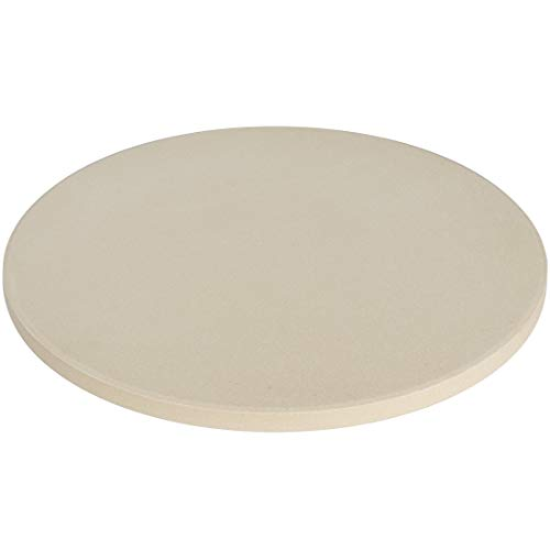 Epetlover Round Pizza Stone for Ovens & Grills(14-inch), Cordierite, Durable and Certified Safe, Best Choice for Home Baking to Make Crispy Crust Pizza