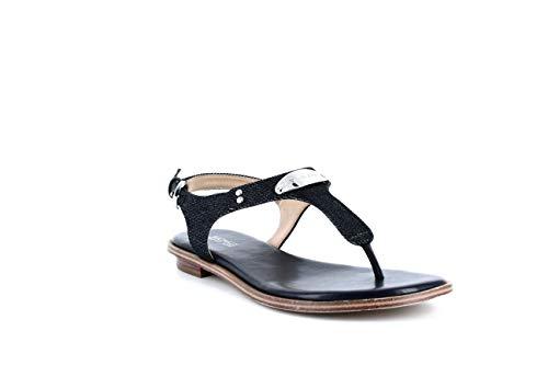 MICHAEL Michael Kors MK Plate Flat Thong Sandals (6 M US, Dark...
