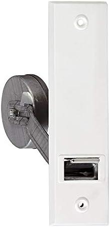 TESO Einlass-Gurtwickler inkl 160 mm wei/ße Kunststoff Abdeckplatte und Befestigungsschrauben//Lochabstand