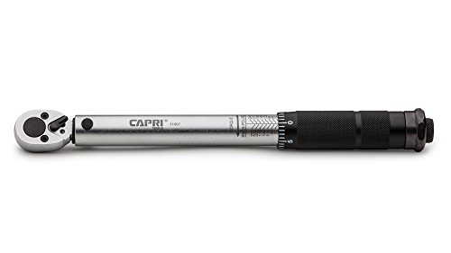 Capri Tools 31007 50-245 Inch Pound Torque Wrench, 1/4-Inch Drive