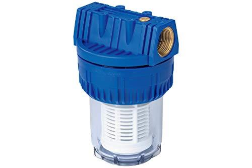 Metabo Filter 1 Zoll, kurz, mit waschbarem Filtereinsatz (Höhe: 190 mm, Ø 120 mm, Wasserdurchfluss: 6200 l/h) 0903050314