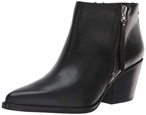 Sam Edelman Women's Walden Ankle Boot, Black Leather, 8 Medium US