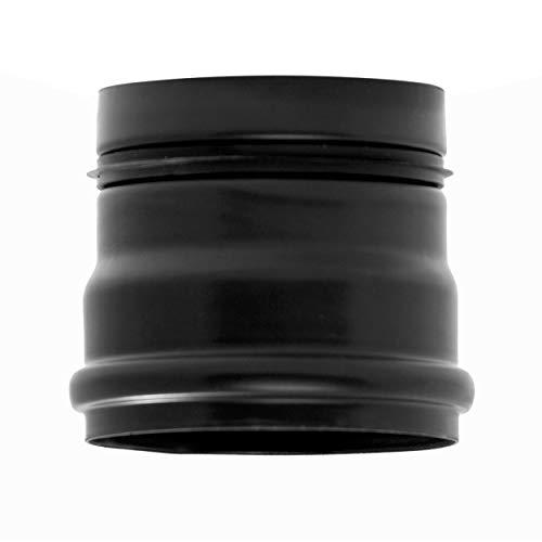 raik 8021013 Pelletrohr/Ofenrohr 80mm - Ofenanschlussstück