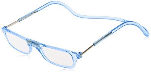 [クリックリーダー] 老眼鏡 Clic Pastel メンズ ブルーパステル 日本 +2.50-(FREE サイズ)