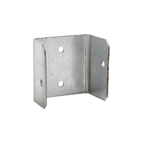 (10 Pack) 44mm Fence Panel Clips/Trellis Clip Bracket BZP