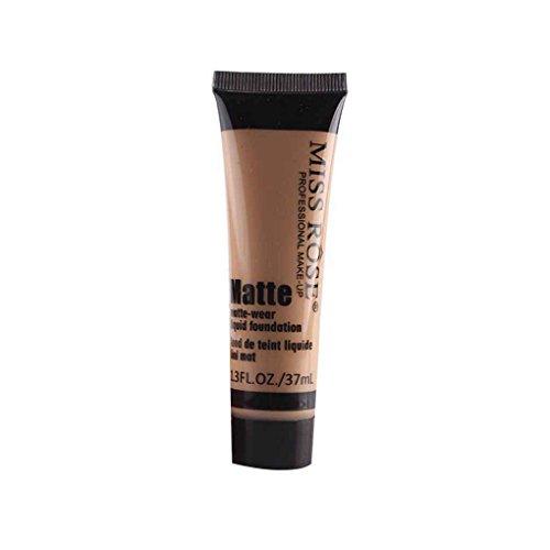 zhibeisai Miss Rose Matte Concealer Feuchtigkeitscreme Creme Lotion Frauen Mädchen Make-up Flüssig Whiten Foundation Creme