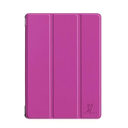 HHF Pad Accesorios para Samsung Galaxy Tab S4 10.5 2018 SM-T830 / T835, Tableta de lápiz Caja Protectora de la Piel para la pestaña Galaxy 10.5 (Color : Purple)