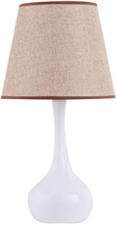 Taideng LED tischlampe Nordic einfache touch fernbedienung dimmen hochzeit Korean dekorative garten schlafzimmer nachttischlampe (Farbe   Beige-A)