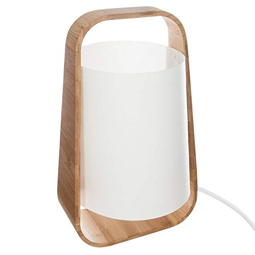 Atmosphera - Lampe Bambou + abj plast h35