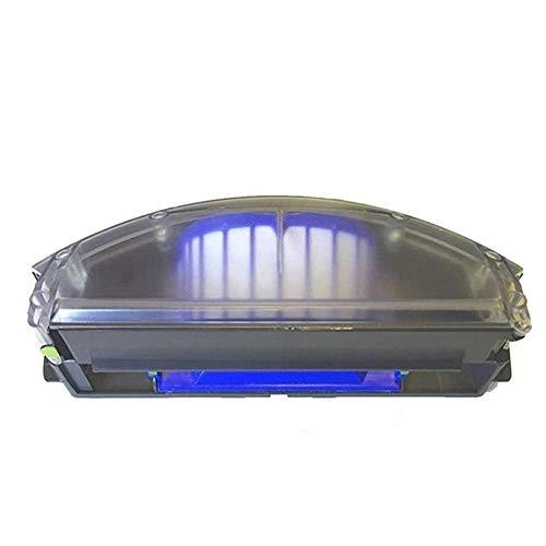 JGSDJWIAS Accessori per Aspirapolvere Adatta for IRobot Roomba Serie 500/600 Vac Aero Contenitore di Polvere Bin Filtro Fit for Aerovac Bin Collecter 510/520/530/535/540/536/531/620/630/650/700/800