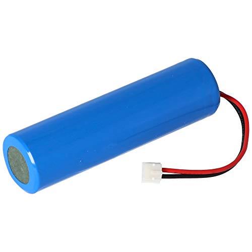 Dalux® Akku 18650 3,7V 2000mAh mit Stecker Ersatzakku für Solar-Tisch-Leuchte Jolla Batterie