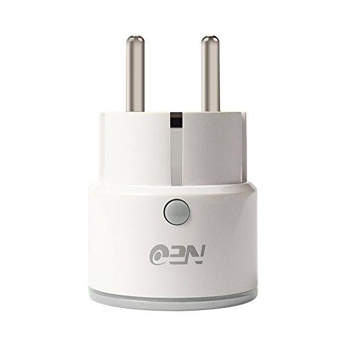 Neo Mini Wi-Fi Socket Smart Plug Comp COMPATIBLES with Amazon Alexa/Google Home/ifttt (tuyasm Art/smartlife App)