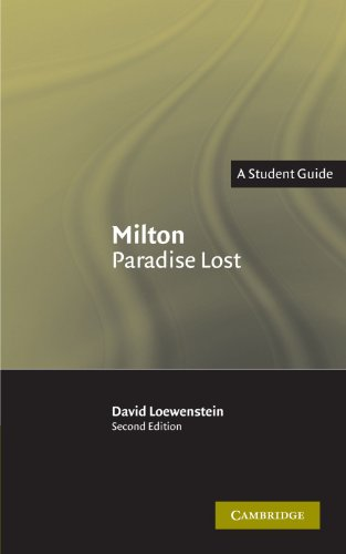 Milton: Paradise Lost: A Student Guide (Landmarks of World Literature...