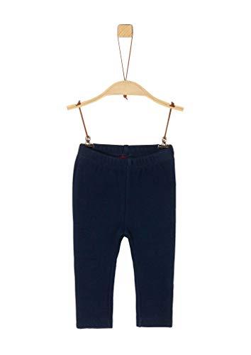 s.Oliver Unisex - Baby Einfarbige Jersey-Leggings dark blue 86.REG
