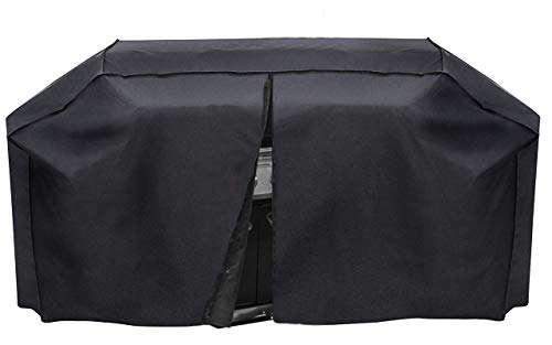 Outdoor Armor XL 79' Heavy Duty BBQ Gas Grill Cover, PVC Coating,Waterproof UV-Resistant, Rip-Resistant, Middle Zipper for Easy Access, Built to Protect Your Investment