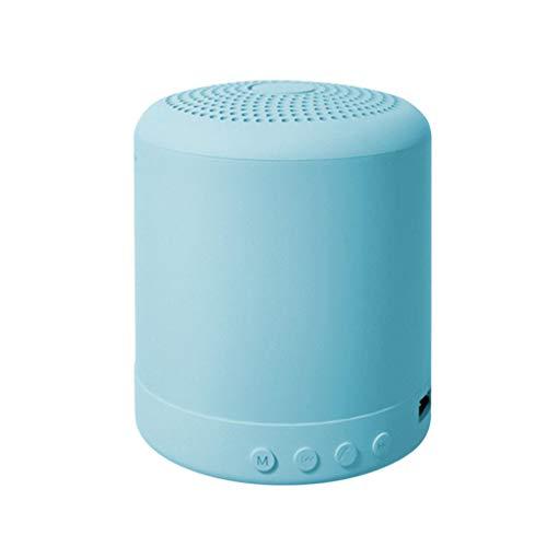 Guangcailun Bluetooth Speaker Wireless Stereo Reproductor de música portátil Bass Speaker Box para la Oficina en casa, Azul