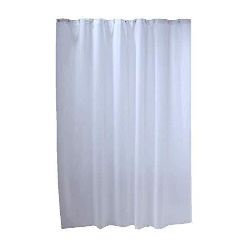 MWPO Umweltschutz duschvorhang, Bad reinweiß duschvorhang wasserdicht Dicke warme Bad Vorhang duschbad vorhänge Hause wesentliche weiß & großzügig JDF und reg;