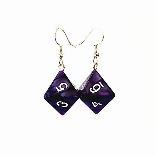 Dice Earrings Set
