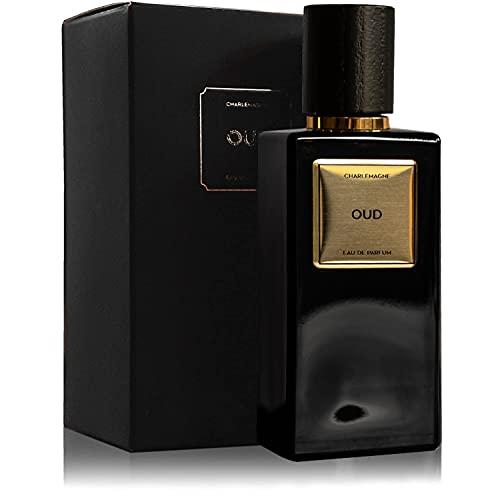 Charlemagne Eau de Parfum Oud - Noble Fragrance für Männer - Eau de Parfum Herren 50ml Männer Parfüm - langanhaltender Oud Wood Duft/Parfüm für Herren - Edler Duft - Oud Parfum Herren