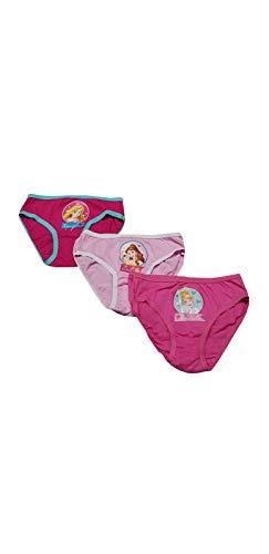 Generico 3 Mutandine Bambina Una Confezione da Tre Slip Principesse per Femminuccia (PRI Assortiti, 2-3 Anni)