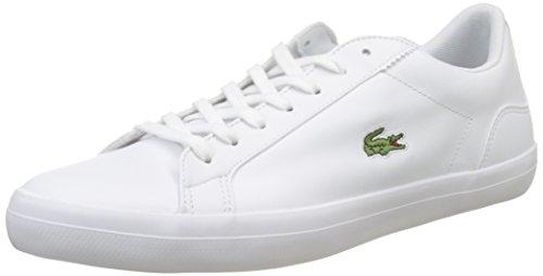 Lacoste Lerond BL 1 CAM, Zapatillas Hombre, Blanco (White), 43 EU
