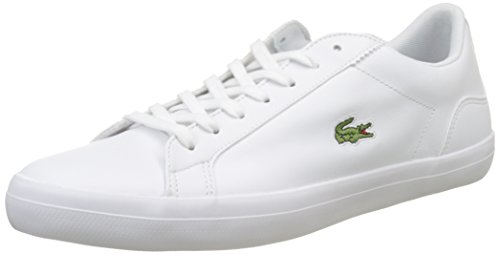 Lacoste Herren Lerond BL 1 CAM Sneaker, Weiß (White), 43 EU
