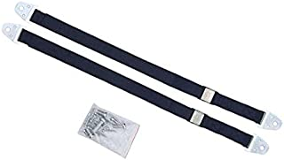 yotijay 2pcs Heavy Duty Baby Proofing Furniture Anchors TV and Furniture Straps