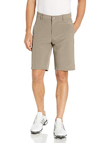 adidas Golf Ultimate+ 3-Stripes Short, Khaki, 34
