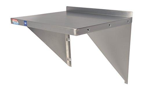 Apparatuur plank geschikt voor magnetron etc. - inclusief beugels en bevestigingen - 610 x 500 mm (24