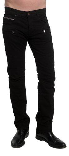 Rockstar Sushi Men's Jax Biker Pants Black 31