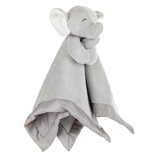 KIDS PREFERRED Carter#039s Elephant Plush Stuffed Animal Snuggler Blanket  Gray