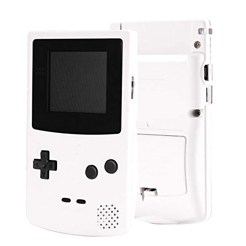 eXtremeRate White Soft Touch GBC Replacement Full Housing Shell Cover...