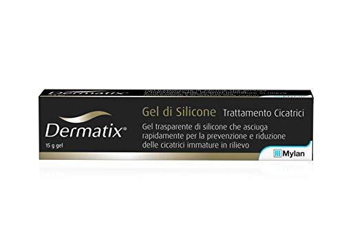 Dermatix Gel Trasparente di Silicone, per la Prevenzione e Riduzione delle Cicatrici, del Dolore, del Prurito e dell'Arrossamento, Tubetto da 15 ml