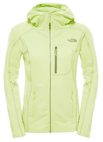 North Face Damen Fleecejacke W Incipient Hooded Jacket, Budding Green, L
