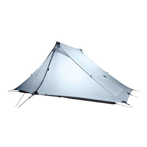 'N/A' 20D Nylon Both Sides Silicon Tent 2 pro 2 Person Outdoor Ultralight Camping Tent 3 Season Professional,Gray
