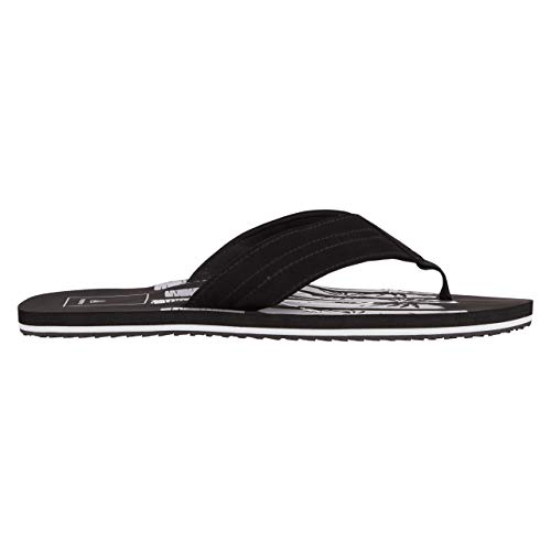 Firefly Charlie 9 Tongs pour homme 46 noir/blanc