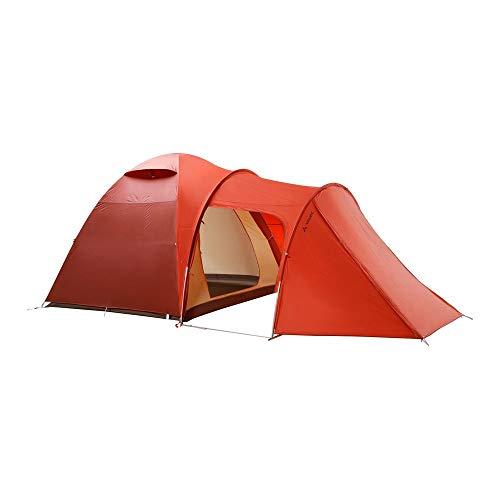 VAUDE >=5-personen-zelt Campo Casa XT 5P, 5 Personenzelt, einfacher Aufbau, terracotta, one Size, 142291700