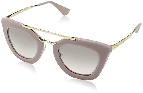 Prada Damen Cinema PR09QS Sonnenbrille, Rosa (Opal Pink/Matte Pink TKP4K0), One size (Herstellergröße: 49)