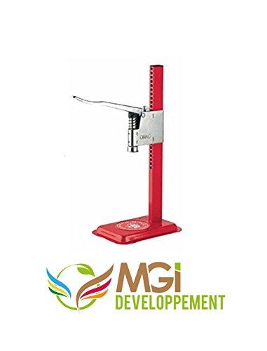Verschlussmaschine, mit Hebel aus Edelstahl, sehr robust, hergestellt in Italien