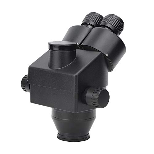 Hochgenaues professionelles Trinokular-Stereomikroskop 7-45X aus Aluminiumlegierung zur Schmuckidentifizierung für die Reparatur mechanischer Uhrwerke