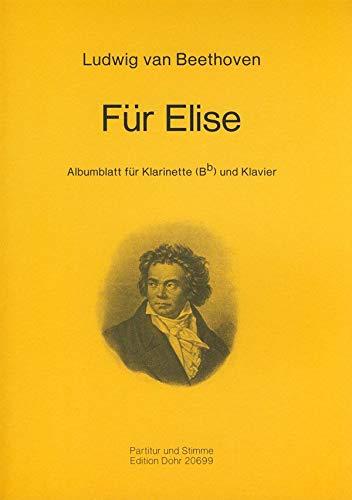 Für Elise : für Klarinette und Klavier
