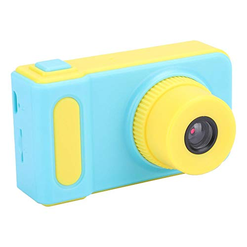 ASHATA Kids Selfie Camera, 2.0 inch scherm Selfie Photo Sticker Mini digitale camera met draagkoord voor kinderen, met foto-/videofunctie HD-camera Optioneel 8 scènes en 4 opnamen Zoom