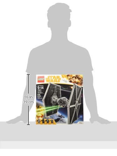 Vaisseau Empire Impériale TIE Fighter Chasseur LEGO Star Wars 75211 - 519 Pièces - 5