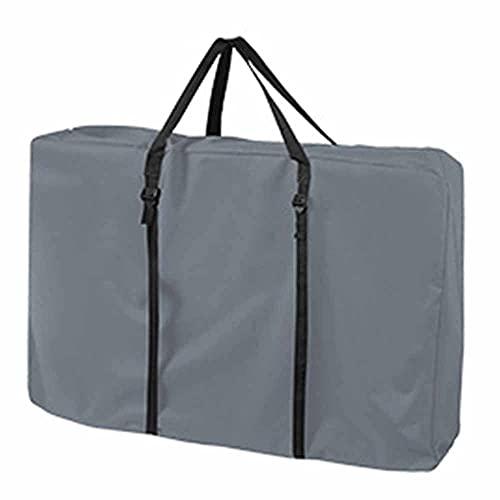 SJZERO 600D Oxford Cloth Silla de Arena Plegable al Aire Libre Bolsa de Almacenamiento portátil Bolsa de Almacenamiento de Muebles de Transporte Pesado con Asas