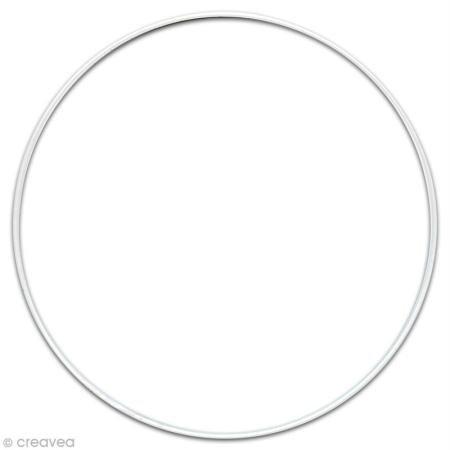 Armature abat-jour cercle - Ø 35 cm - Graines créatives