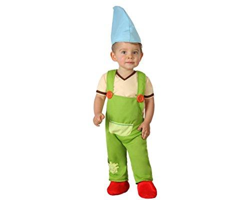 Atosa-23981 Atosa-23981-Costume Déguisement Lutin 12 À 24 Mois Garçon, 23981, Vert