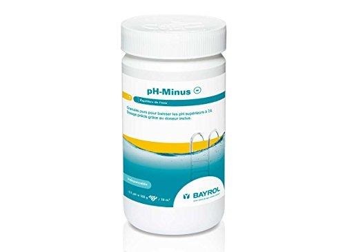 Granulés en boîte d'1.5 kg Bayrol pH-Minus