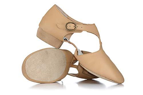 Adult Leather Grecian Teaching Sandal T8900TAN07.0 Tan 7 M US