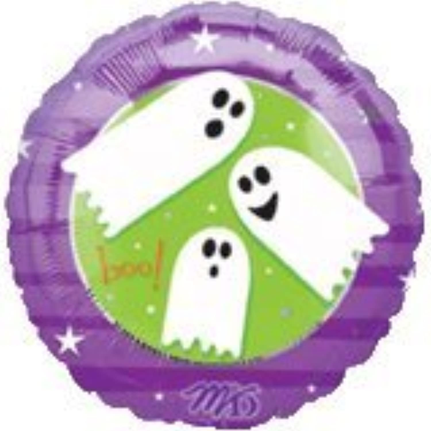 Single Source Party Supplies - 18  Creepy Critters Ghosts Mylar Foil Balloon